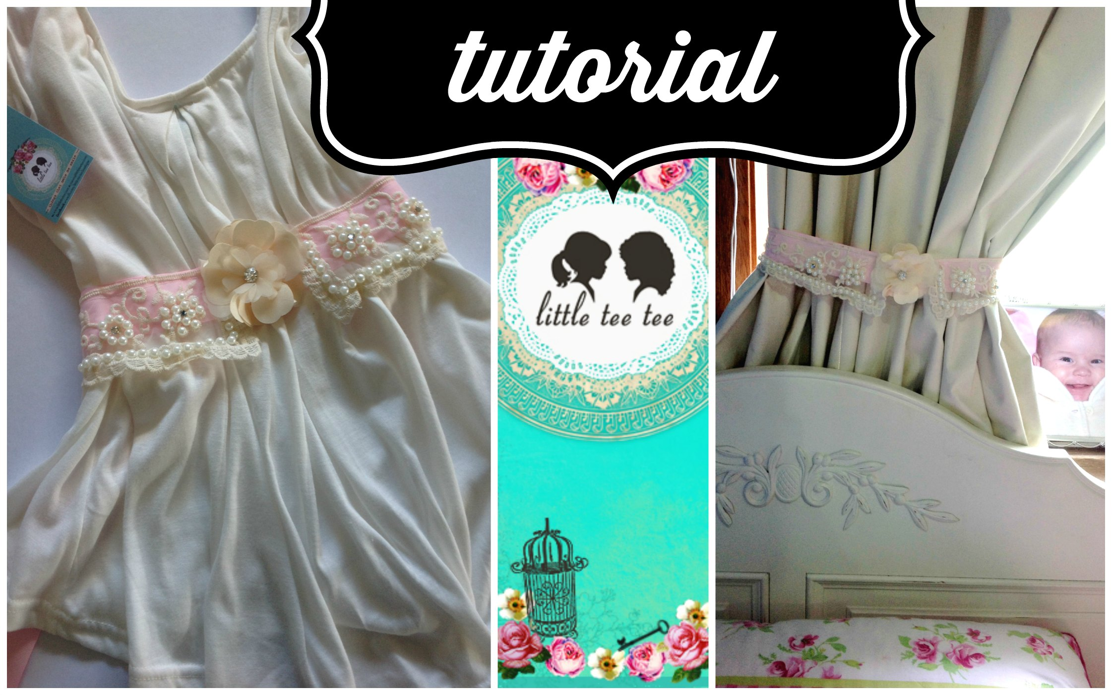 Tutorial: How to make a Shabby Chic Sash