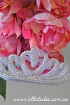 Rhinestone applique - Large tiara
