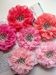 Parisian applique. x1. Pinks