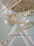 Sewing tape ribbon. Cotton. x 1mtr